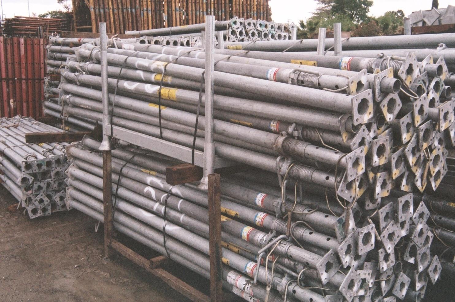 Aluminum Shoring Post : Post shores construction enterprises inc